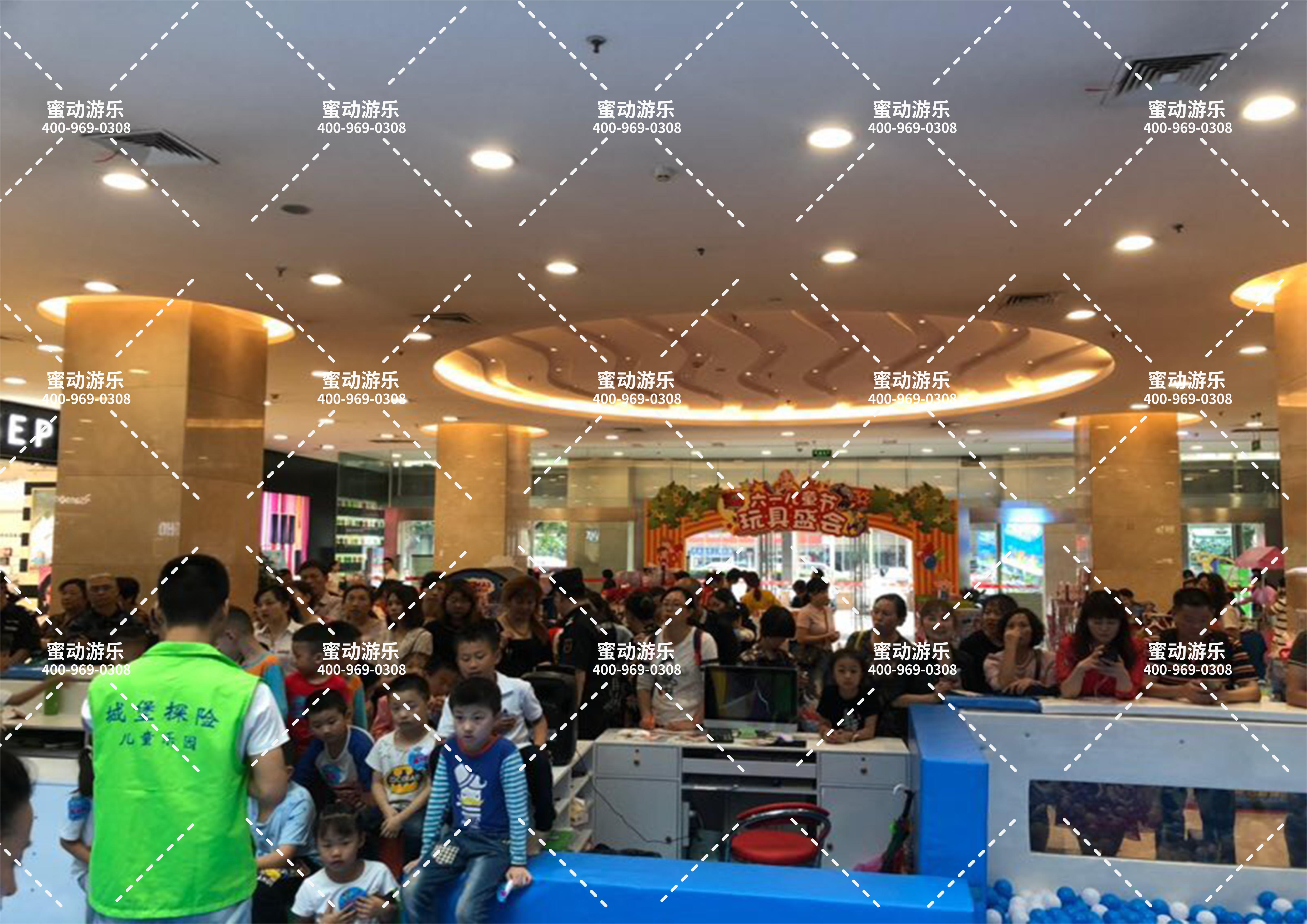 重庆百联弹性迷宫城堡探险乐园